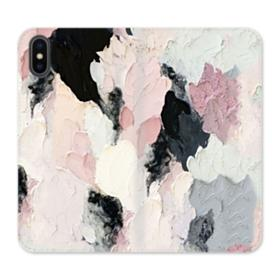 Watercolor Aesthetic iPhone X Wallet Leather Case