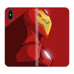 Iron Man iPhone X Wallet Leather Case