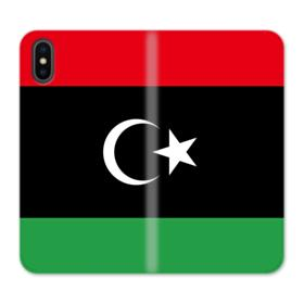 Flag of Libya iPhone X Wallet Leather Case
