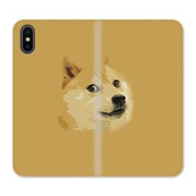Doge meme iPhone X Wallet Leather Case