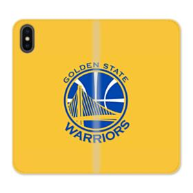 Golden State Warriors Yellow iPhone X Wallet Leather Case