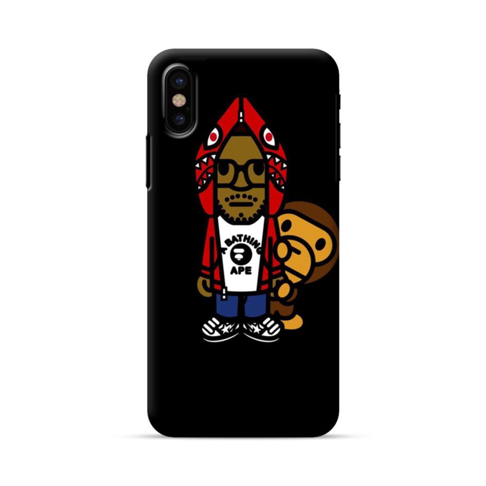timeless design cc4fb 37ea4 Kid Cudi iPhone X Case