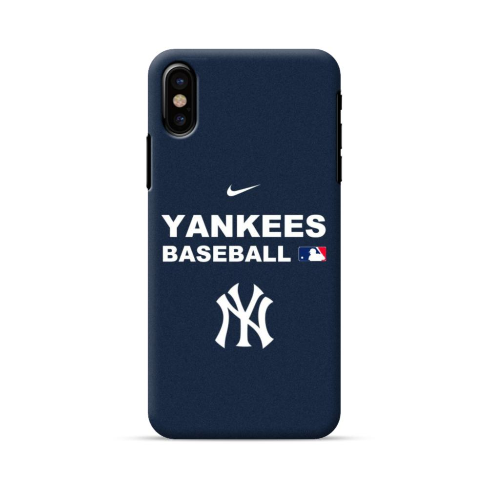 super popular b05cc e048e New York Yankees Team Logo Interlocking iPhone X Case