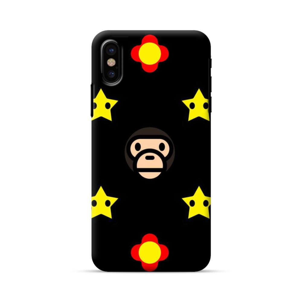 super popular 0cafc 65943 AAPE and Mario Pattern iPhone X Case