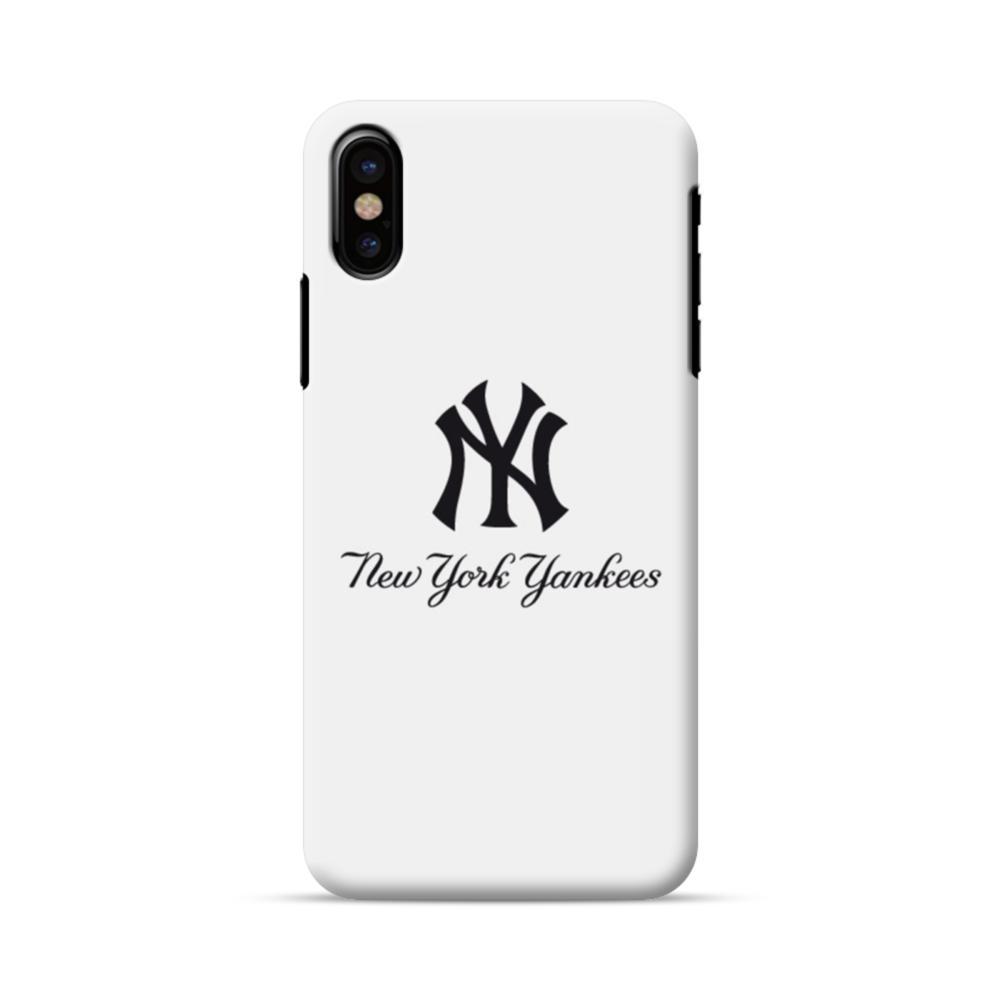 detailed look 73e3b 0402f New York Yankees Script Font iPhone X Case