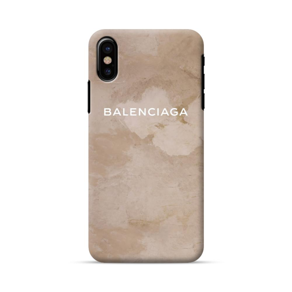 hot sales 127fd 110c0 Balenciaga Grunge Style iPhone X Case