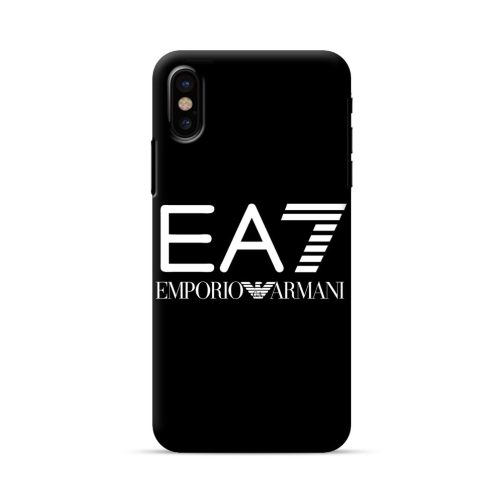 brand new 119e8 54df8 EA7 Emporio Armani iPhone X Case