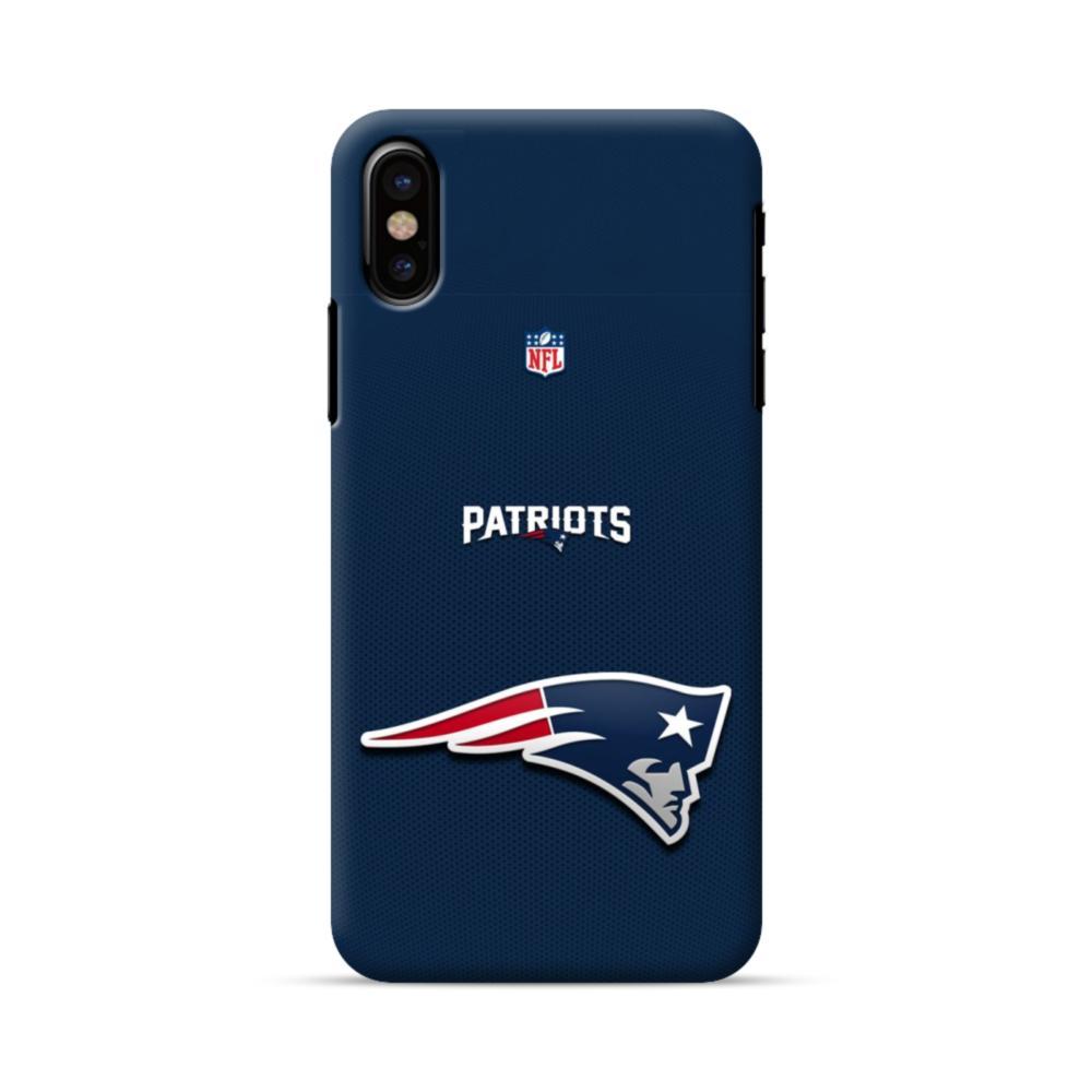 f2e56b0c New England Patriots Team Logo NFL iPhone X Case | CaseFormula