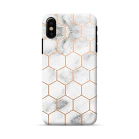 Honeycomb Marble iPhone X Case