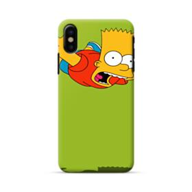Bart in the air iPhone X Case