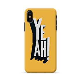 Yeah Sign iPhone X Case