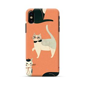 Cats iPhone X Case