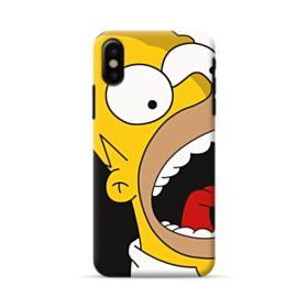 Simpsons Shout iPhone X Case