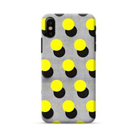 Yellow Dots iPhone X Case