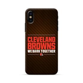 Cleveland Browns We Bark Together iPhone X Case
