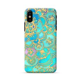 Lake Blue Mandala Pattern iPhone X Case