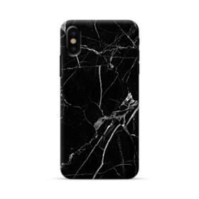 Black & White Marble iPhone X Case