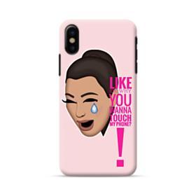 Crying Kim emoji kimoji meme  iPhone X Case