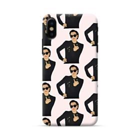 Kris Jenner middle finger meme iPhone X Case