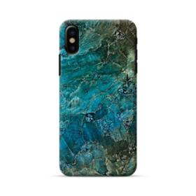 Green Marble iPhone X Case