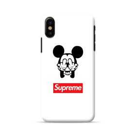 Disney Mickey Mouse x Supreme iPhone X Case