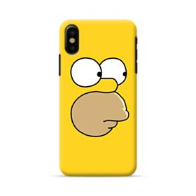 The Simpsons Face iPhone X Case