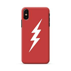 Flash Hero Logo Minimalism iPhone X Case
