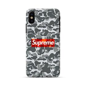 Bape x Supreme iPhone X Case