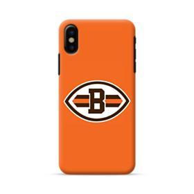 Football Shape B Symbol iPhone X Case