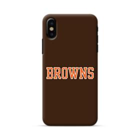 Browns Texts iPhone X Case