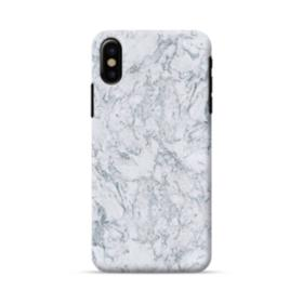 Grey Marble iPhone X Case