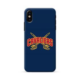 Cleveland Cavaliers Crisscrossed Swords iPhone X Case