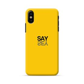 Say Yes iPhone X Case