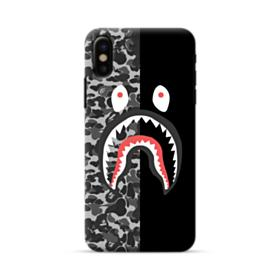 Bape Shark Camo & Black iPhone X Case