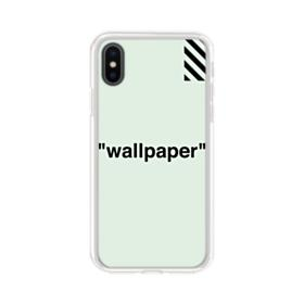 Off White Iphone X Clear Cases Caseformula
