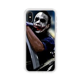 Joker Comics iPhone X Clear Case