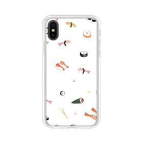 Japanese Sushi Food iPhone X Clear Case
