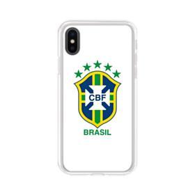Brazilian Football Confederation iPhone X Clear Case
