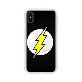 Flash Logo iPhone X Clear Case