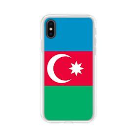 Azerbaijan Flag iPhone X Clear Case