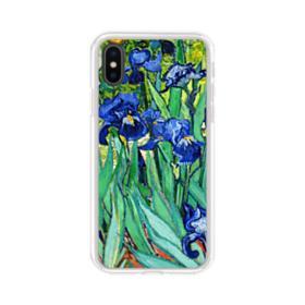Irises Claude Monet iPhone X Clear Case