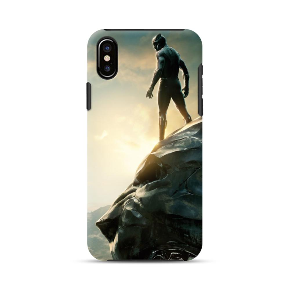 official photos a76b5 ce5e5 Black Panther Picture iPhone X Hybrid Case