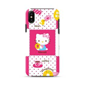 Hello Kitty Pinky White iPhone X Hybrid Case