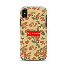 Supreme Camo iPhone X Hybrid Case