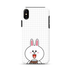 Line Friends Cony iPhone X Hybrid Case