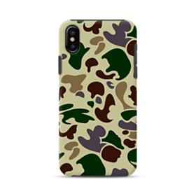 AAPE Light Camouflage Pattern iPhone X Hybrid Case