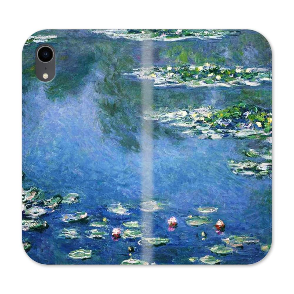 size 40 942ac 78fe3 Water Lilies Claude Monet iPhone XR Wallet Leather Case