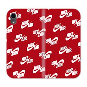 Nike Air Red iPhone XR Wallet Leather Case