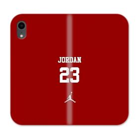 Jordan 23 iPhone XR Wallet Leather Case