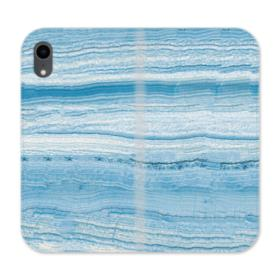 Blue Rock Strata iPhone XR Wallet Leather Case